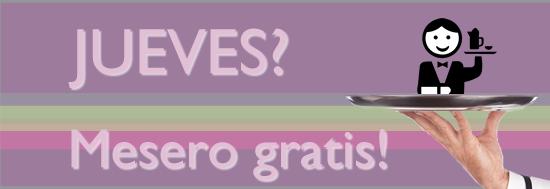 MESERO GRATIS